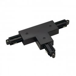 SPOTLINE/SLV Łącznik T do szyny 1-fazowej Czarny 143080