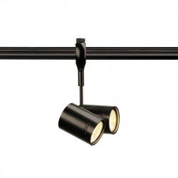 SPOTLINE/SLV Reflektor BIMA 2 do Easytec II 2xGU10 Czarny 184440