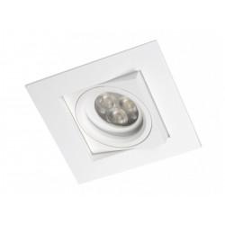 BPM CARE 1xGU5.3 Wpuszczana Wychylna 25o Biały 4200