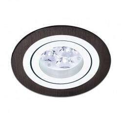 BPM MINI CATLI 1xGU10 Wpust Wychylna 45o Aluminium szczotkowane czarne 3053GU