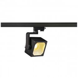 SPOTLINE/SLV EURO CUBE LED 60° 28,5W Reflektor 3-fazowy Czarny 152750