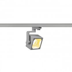 SPOTLINE/SLV EURO CUBE LED 90° 28,5W Reflektor 3-fazowy Srebrnoszary 152764