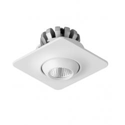 Dobac Yuca Square Tilted Wpust LED 3W 250lm 45st 3000K KT6860