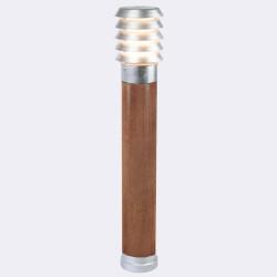Norlys Alta 85cm 1xE27 IP65 drewno malowane/ocynk ogniowy Stojąca1440GA