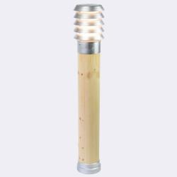 Norlys Alta 85cm 1xE27 IP65 drewno impregnowane/ocynk ogniowy Stojąca 1443GA
