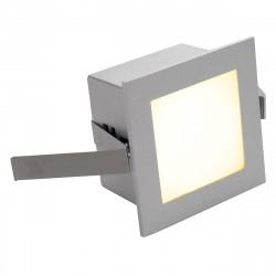 SPOTLINE/SLV FRAME BASIC LED Wbudowana. Kwadratowa. SrebrnoSzary. Ciepły Biały LED 111262 Wpust