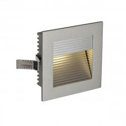 SPOTLINE/SLV FRAME CURVE LED Wbudowana. Kwadratowa. SrebrnoSzary. Ciepły Biały LED 111292 Wpust