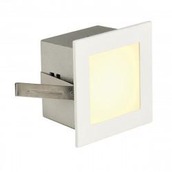 SPOTLINE/SLV FRAME BASIC LED Wbudowana. Kwadratowa. Biały mat. ciepły Biały LED 113262 Wpust
