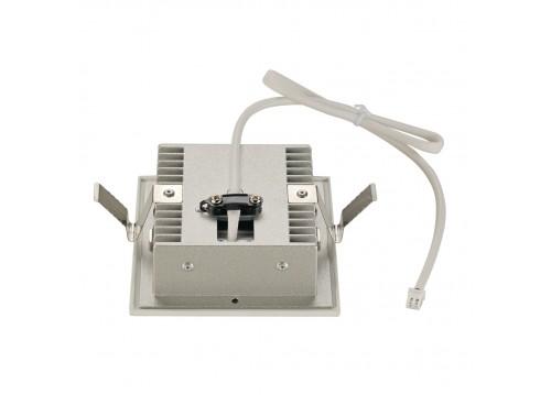 SPOTLINE/SLV FRAME CURVE LED Wbudowana. Kwadratowa. Biały mat. ciepły Biały LED 113292 Wpust
