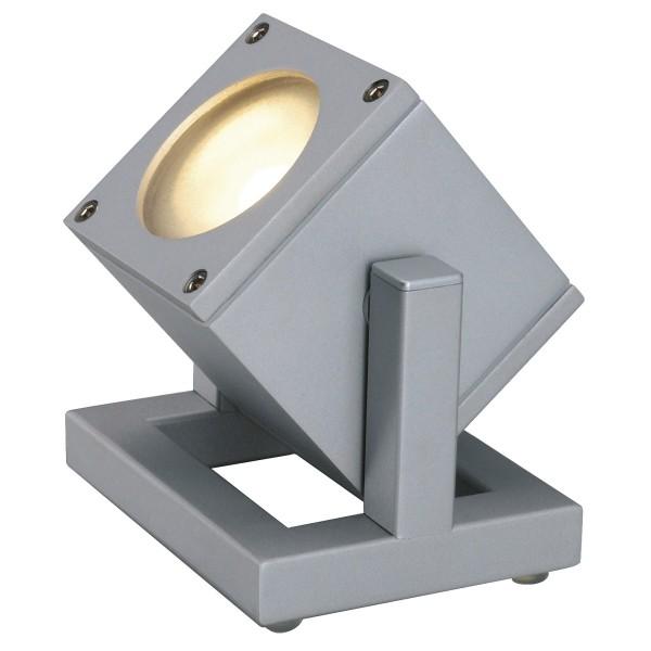 SPOTLINE/SLV CUBIX I lampa podłogowa. srebrnoszary. GU10. max. 25W 132832