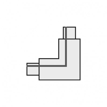 SPOTLINE/SLV L 1-fazowa Łącznik 2 HV. Biały. uziem. wew. 143061