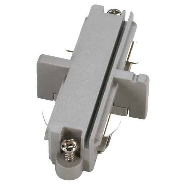 SPOTLINE/SLV 1-fazowa Łącznik podłużny elektr. HV. SrebrnoSzary 143092