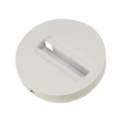 SPOTLINE/SLV Rozeta sufitowa do szyny 1-fazowej. biały 143381