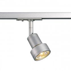 SPOTLINE/SLV PURI. 1-fazowa Adapter SrebrnoSzary GU10. max. 50W.143392 Reflektor