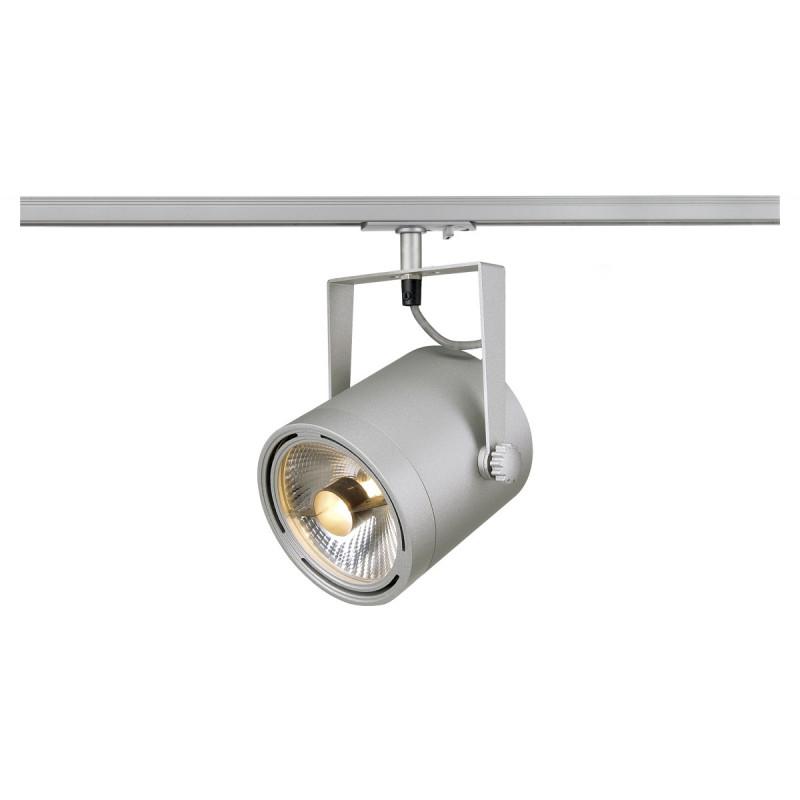 SPOTLINE/SLV EURO SPOT ES111. SrebrnoSzary. max. 75W.adapter 1 fazowy 143804 Reflektor