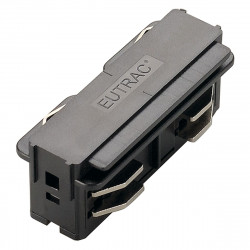 SPOTLINE/SLV EUTRAC 3-fazowa łącznik wzdłużny. elektr. Czarny 145560