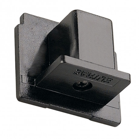 SPOTLINE/SLV EUTRAC 3-fazowa końcówka do szyny. Czarny 145590