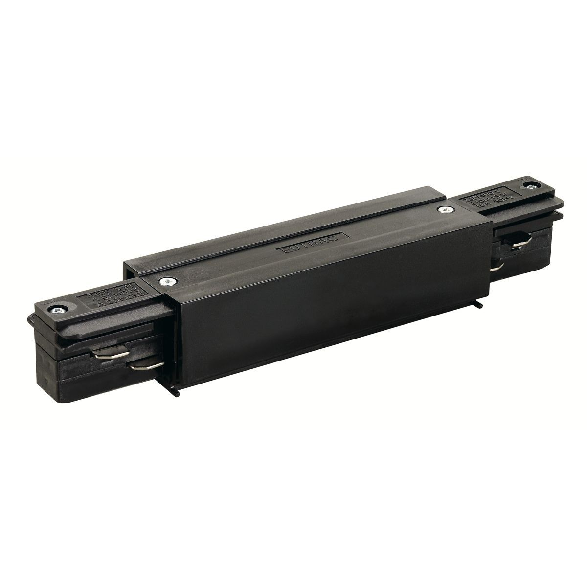 SPOTLINE/SLV EUTRAC EUTRAC 3-fazowa łącznik wzłużny. możliwość podłączenia zasilania. Czarny Czarny 145660