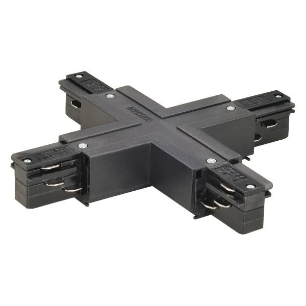 SPOTLINE/SLV EUTRAC X-łącznik. czarny 145690