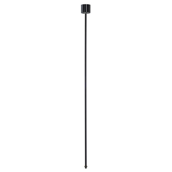 SPOTLINE/SLV EUTRAC zawieszenie sztywne do szyny 3-fazowej. czarny. 120cm 145710
