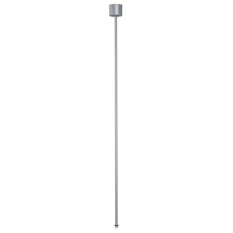 SPOTLINE/SLV EUTRAC zawieszenie sztywne do szyny 3-fazowej. srebrnoszary. 120cm 145714