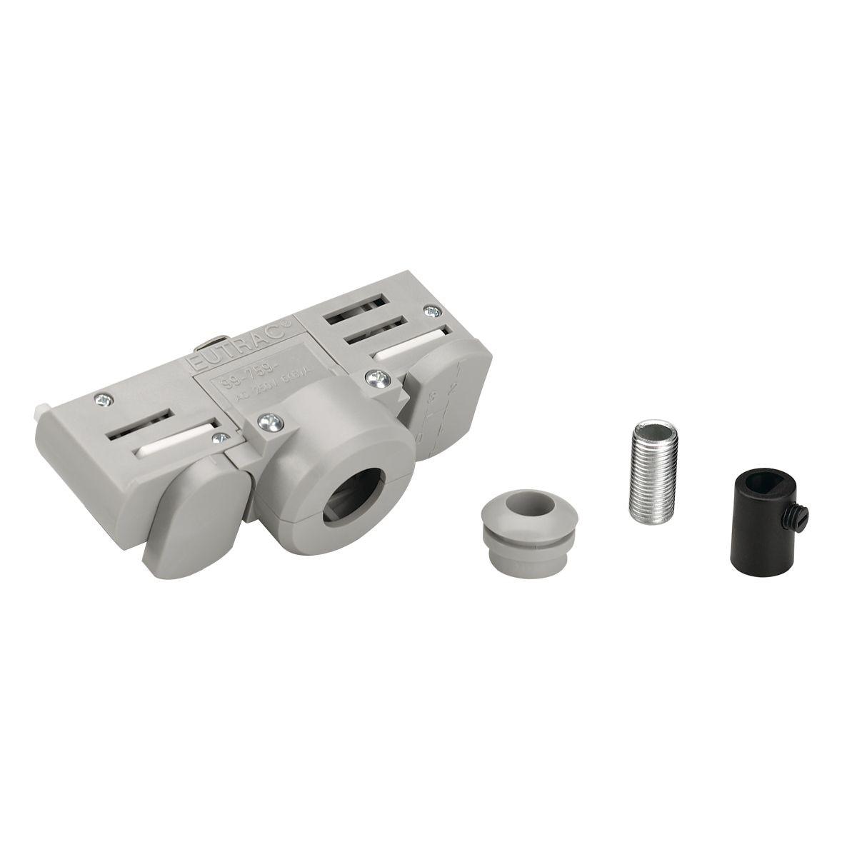 SPOTLINE/SLV EUTRAC adapter do szyny 3-fazowej. szary 145994