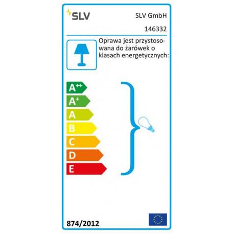 SPOTLINE/SLV DISPLAY ADL 50/GU10. chrom. max. 50W. wraz z puszką przył. 146332