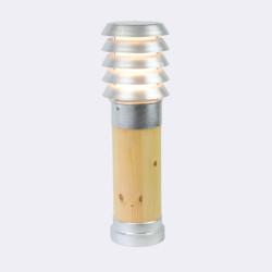 Norlys Alta Stojąca 49cm 1xE27 IP65 drewno impregnowane/ocynk ogniowy 1453GA