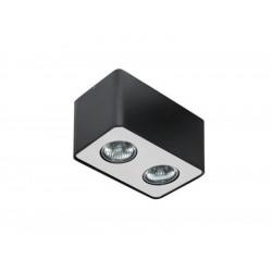 AZzardo NINO 2 Sufitowa Czarny/Aluminium FH31432S