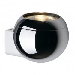 SPOTLINE/SLV LIGHT EYE BALL Chrom/Biały. GU10. max. 75W 149031 Ścienna