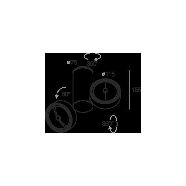 Labra ROBOTIC R2 2-0124 Reflektor