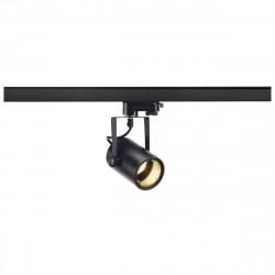 SPOTLINE/SLV EURO SPOT GU10. Czarny. max. 50W. wraz z adapterem 3-fazowym 153850 Reflektor