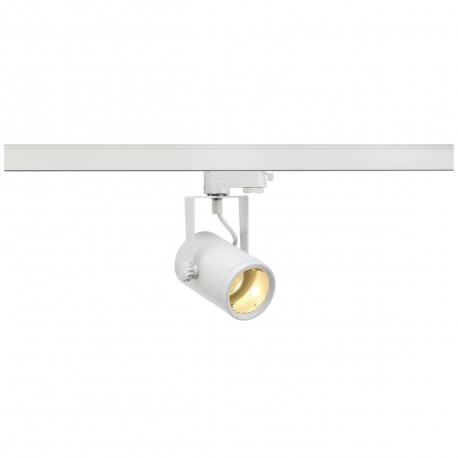 SPOTLINE/SLV EURO SPOT GU10. Biały. max. 50W. wraz z adapterem 3-fazowym 153851 Reflektor