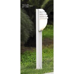 ITALUX Decora Stojąca Biały 1xE27 5161-1/100 Alu