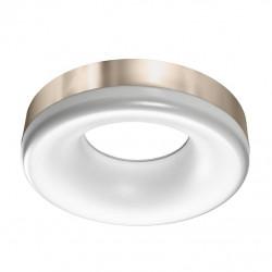 AZzardo Ring Plafon satynowy Nikiel LED 18W 1530lm 3000K AZ2946
