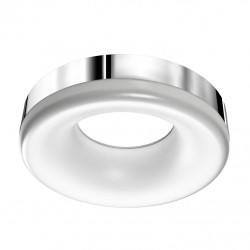 AZzardo Ring Plafon Chrom LED 18W 1530lm 3000K AZ2947