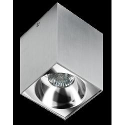 Azzardo HUGO ALUMINIUM 1xGU10 Natynkowa Aluminium AZ0828