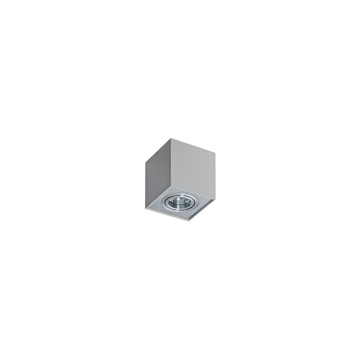 Azzardo ELOY 1 ALUMINIUM 1xGU10 Natynkowa Aluminium AZ0991