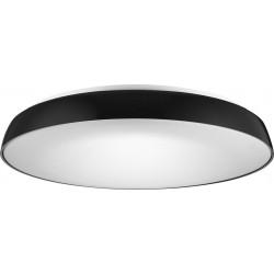 AZzardo Cortona 55 Plafon Czarny LED 50W 3600lm 3000K AZ2745