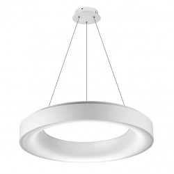 AZzardo Sovana Pendant 55 CCT lampa Wisząca Biały LED 50W 2750lm 3000-6500K dimm AZ2727
