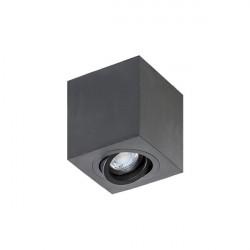 Azzardo Brant Square (LED GRATIS) Sufitowa Czarny 1xGU10 50W AZ2825