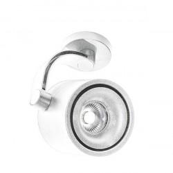 Azzardo COSTA ARM WHITE 1xLED Reflektor Sufitowy Biały AZ2703