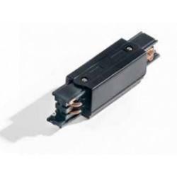 Azzardo Line Power + 2xEnd Cap Czarny łącznik z moziwością zasilania + 2xzaślepka końcowa AZ2977