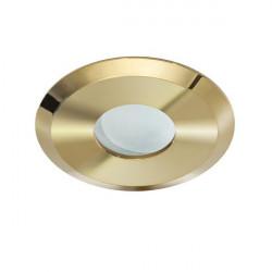 Azzardo OSCAR IP44 GOLD 1xGU10 Wpuszczana Złoty IP44 AZ2800