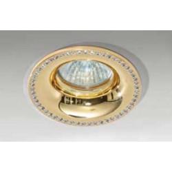 Azzardo ADAMO MIDST DIAMOND GO 1xGU10 Wpuszczana Złoty AZ2740