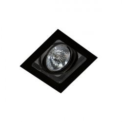 Azzardo SISTO 1 BLACK/BLACK 1xES111 Wpuszczana Czarny AZ2810