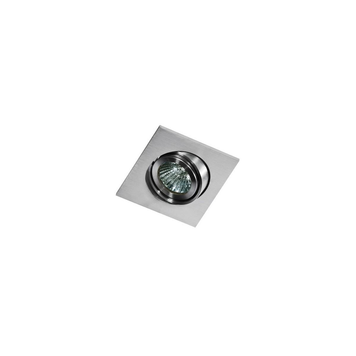 Azzardo EDITTA 1 ALUMINIUM 1xGU10 Wpuszczana Aluminium AZ0806