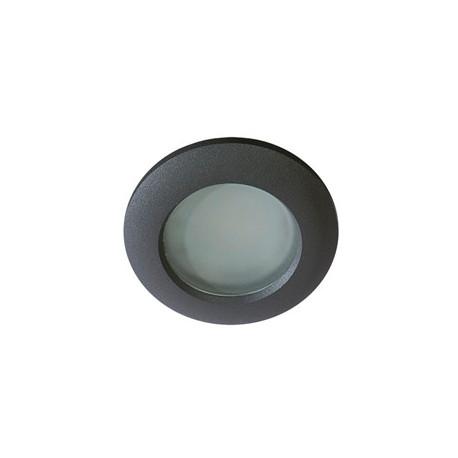 Azzardo EMILIO 1 BLACK 1xGU10 Wpuszczana Czarny IP54 AZ0809
