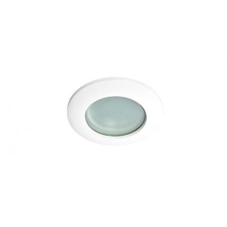 Azzardo EMILIO 1 WHITE 1xGU10 Wpuszczana Biały IP54 AZ0871