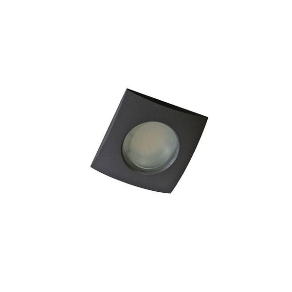 Azzardo EZIO 1 BLACK 1xGU10 Wpuszczana Czarny IP54 AZ0812